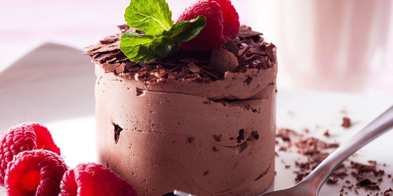 שף פרטי - קינוח - מוס שוקולד