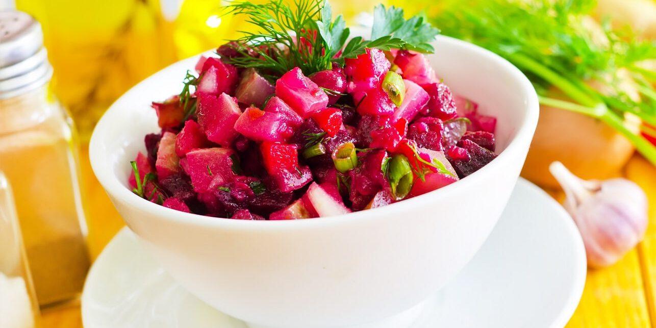 שף פרטי - אוכל צמחוני - סלט סלק